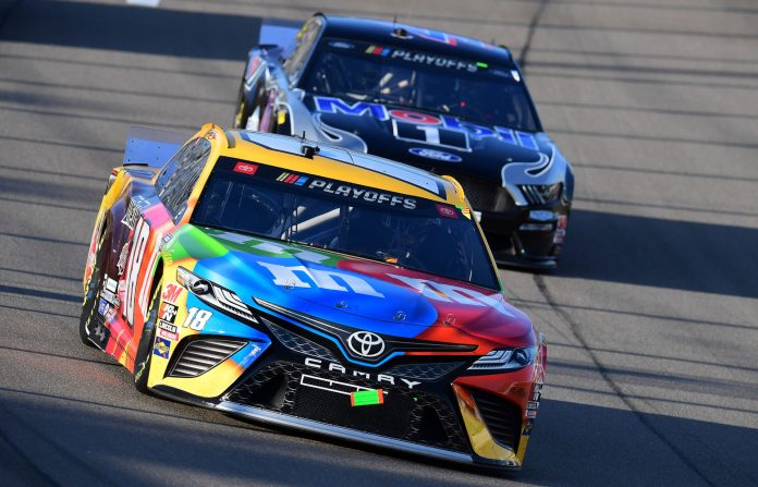 Kyle Busch Snaps at Journalist When Asked About the Future of His Crew Chief