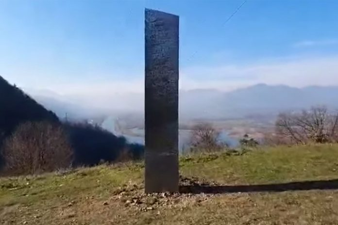 Another mysterious monolith appears — in Romania