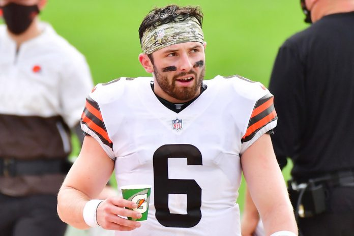 Baker Mayfield has a 'f–king cute' moment during Browns win