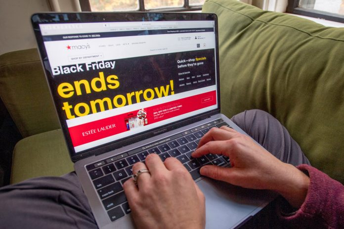 Black Friday shoppers set record for online sales amid COVID