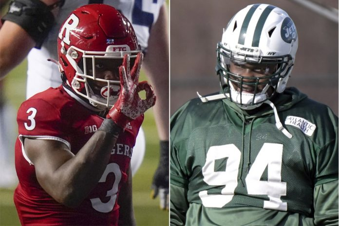 Fatukasi brothers living their dreams with Jets, Rutgers in unique times