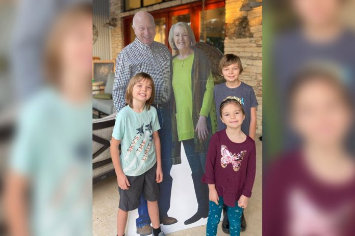 Grandparents send cutouts of themselves for holidays amid COVID-19