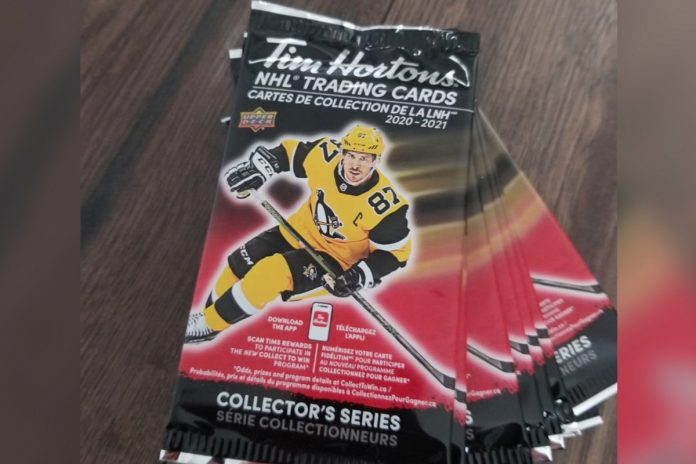 Hockey fans cry foul over Tim Hortons NHL card promotion in Canada