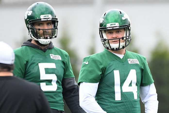 Jets sticking with Sam Darnold in his likely final stand
