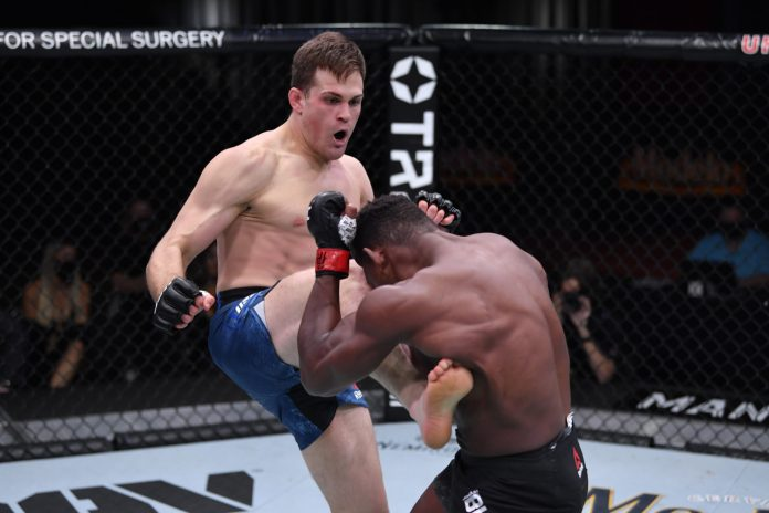 Joaquin Buckley Accepts Fight for UFC 257 Card