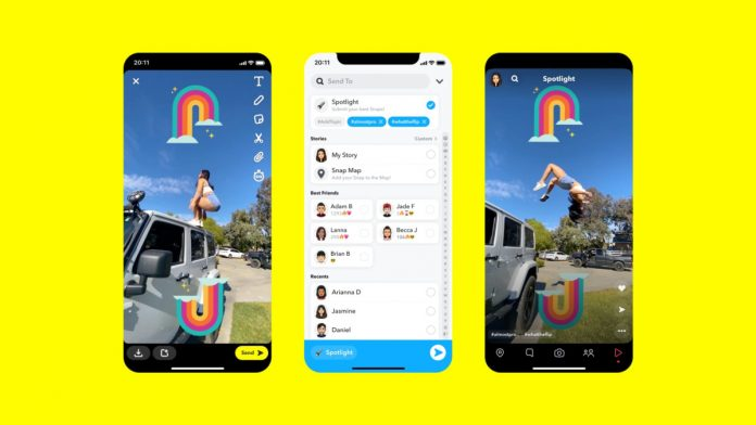 Snapchat offers $1M a day to creators on its new TikTok copycat