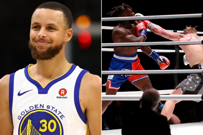Steph Curry, others react to Nate Robinson, Jake Paul knockout