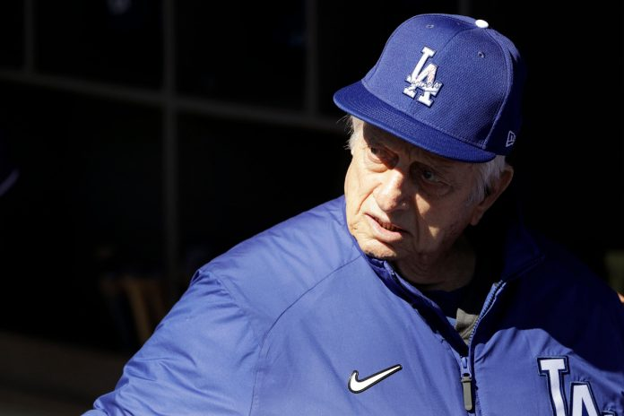 Tommy Lasorda's condition improves after entering intensive care