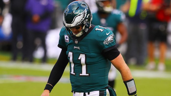 What's wrong with Carson Wentz? Interceptions, sacks & Jalen Hurts questions surround Eagles QB
