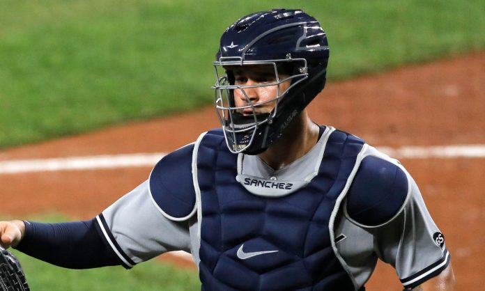 Yankees' Aaron Boone picks intriguing time to defend Gary Sanchez