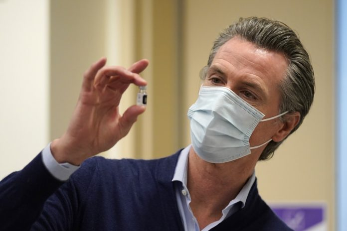 Governor Newsom has to quarantine again post another staffer tests COVID-19 positive