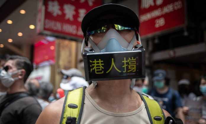 Hong Kong's court of final appeal reinstates face mask ban at the public gatherings