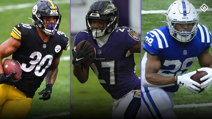 NFL COVID Updates: James Conner, JK Dobbins, Jonathan Taylor, impacting Week 13 fantasy RB rankings