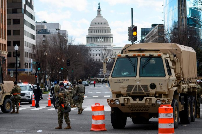 Police arrest a heavily armed Virginia man near US Capitol